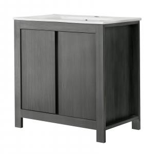 Set mobilier de baie Clasico Grey2