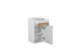 Set mobilier de baie Galatea White 80 cm6