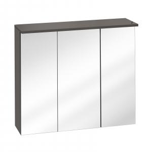 Corp suspendat cu oglinda Galatea Grey 80 cm0