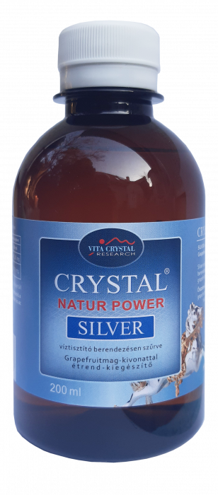 Crystal Silver Natur Power 200 ml 0