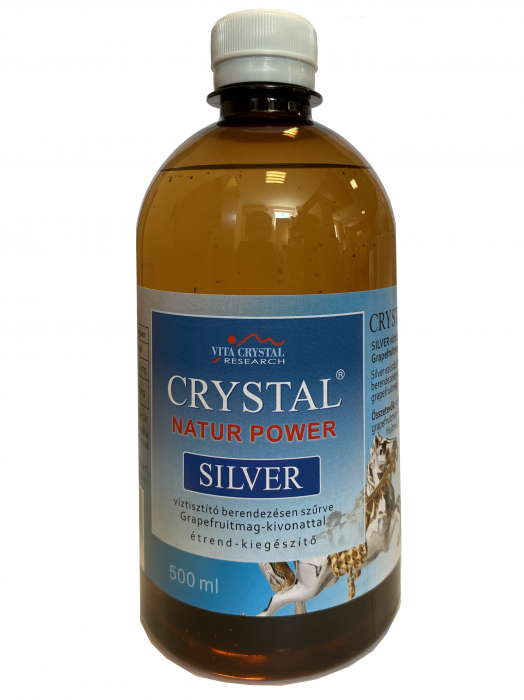 Crystal Silver Natur Power 500 ml 0