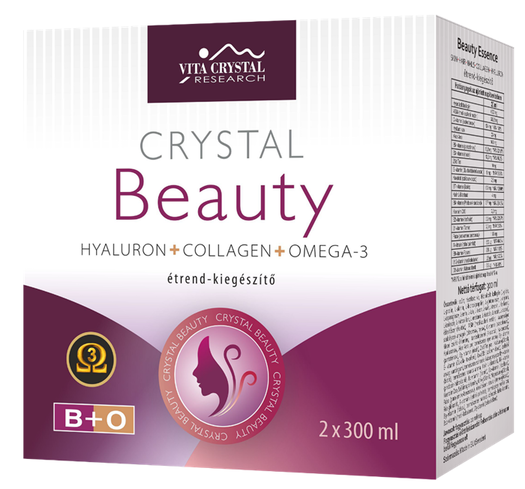 Crystal Complex Beauty Omega-3 Essence 2 X 300ml 0