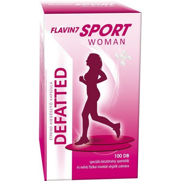 Flavin7 Sport Woman Defatted 100capsule 0