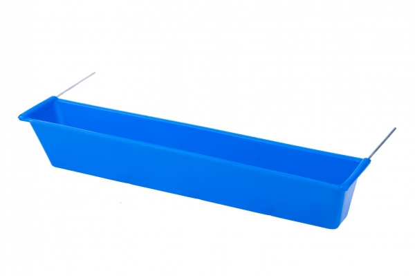 Hrănitoare-adăpătoare pentru boxă cu suport metalic 0