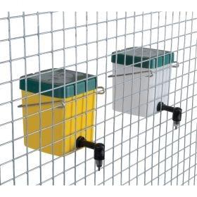 Adăpătoare de iepuri cu recipient de 0,5L, portocaliu 0