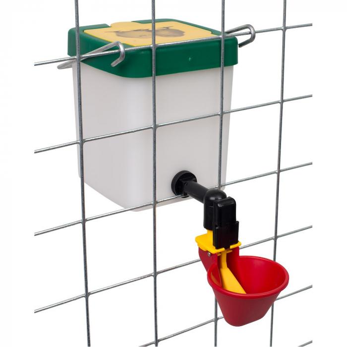 Adăpătoare pentru păsări de curte 0.5l cu cupă ROSIE [0]