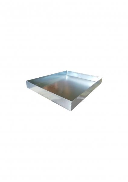 Tavă pentru cuști de iepuri 98x76x10cm din tablă zincată 1