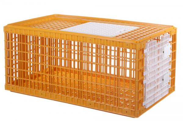 Cușcă de plastic pentru transport păsări model Mg 0