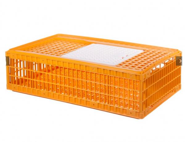 Cușcă de plastic pentru transport păsări model S 0
