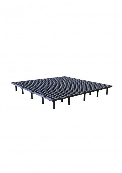 Grătar pentru podea 50 x 50 x 6cm gri 0
