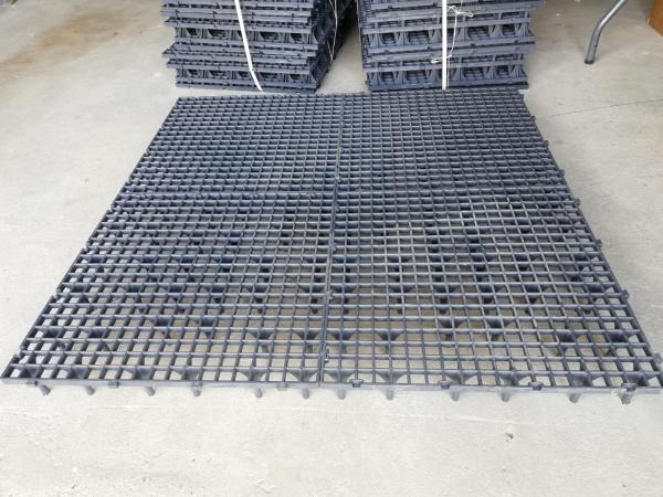 Grătar pentru podea 50 x 50 x 8cm gri 4