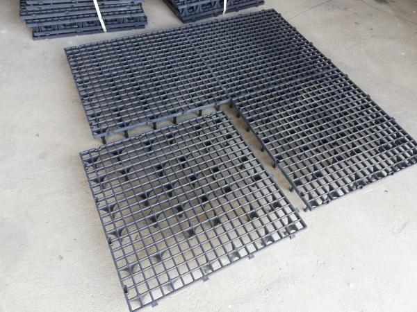 Grătar pentru podea 50 x 50 x 8cm gri 2