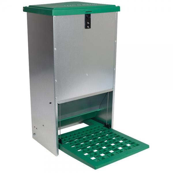 Hrănitoare automată pentru găini cu pedală capacitate 20kg [1]