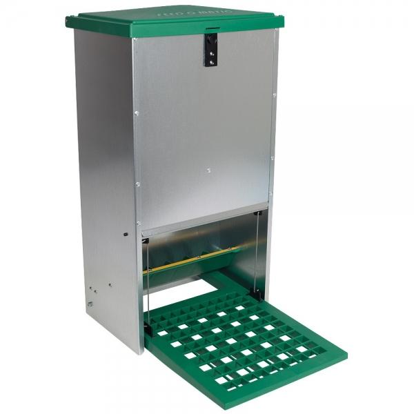 Hrănitoare automată pentru găini cu pedală capacitate 20kg [2]