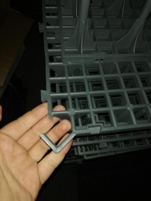 Grătar podea rebut 50x50x8cm (defect) 0