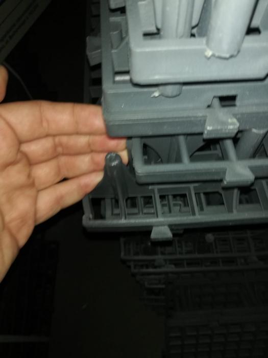 Grătar podea rebut 50x50x8cm (defect) 2