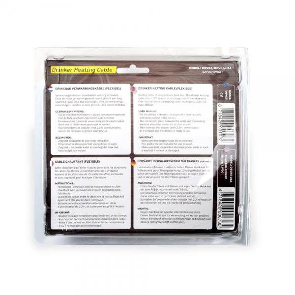 Încălzitor pentru adăpători cu cablu 12v 5w 2