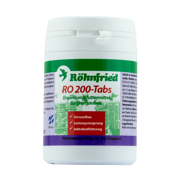 Ro 200 tabs 125 pastile Rohnfried [0]
