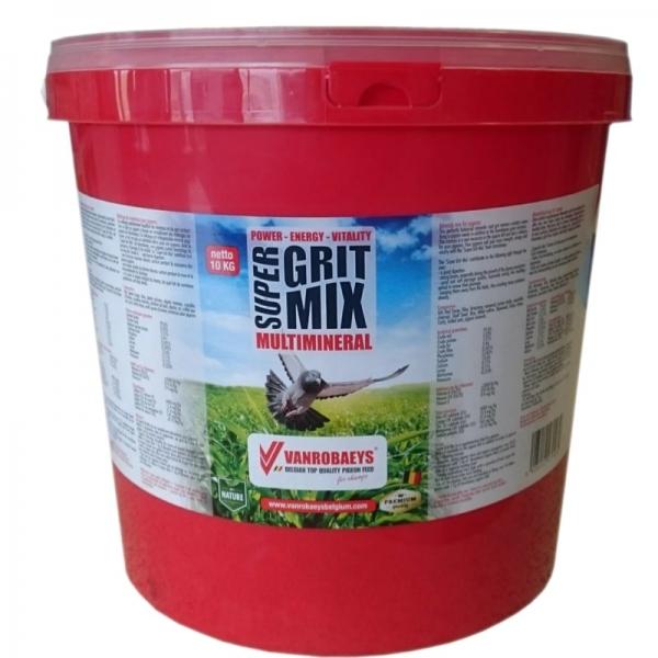 Super grit mix 10kg Vanrobeys [0]