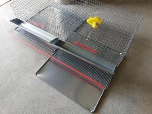 Cușcă pentru prepelițe capacitate 80 capete cu adăpători automate [0]