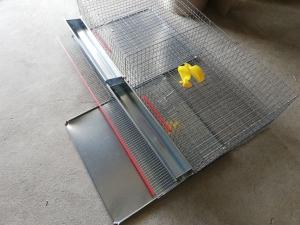Cușcă pentru prepelițe capacitate 80 capete cu adăpători automate [1]