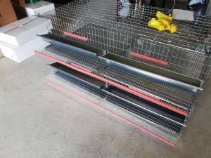 Cușcă pentru prepelițe capacitate 80 capete cu adăpători automate [2]
