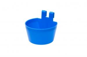 Hrănitoare-adăpătoare pentru cusca tip pahar verde sau albastru1