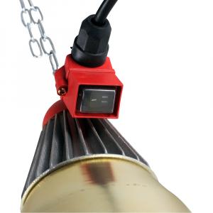 Suport bec (lampa) incalzire cu infrarosu model Interheat cu comutator1