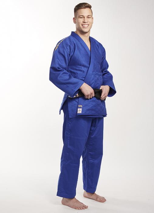 Bluza Ippon Gear Kimono Legend IJF Judo Albastra 4