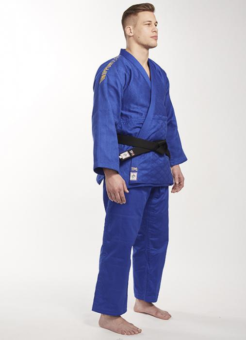 Bluza Ippon Gear Kimono Legend IJF Judo Albastra 0