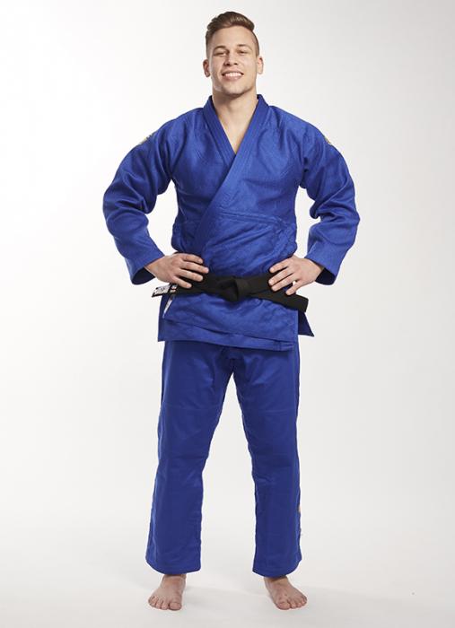 Bluza Ippon Gear Kimono Legend IJF Judo Albastra 1
