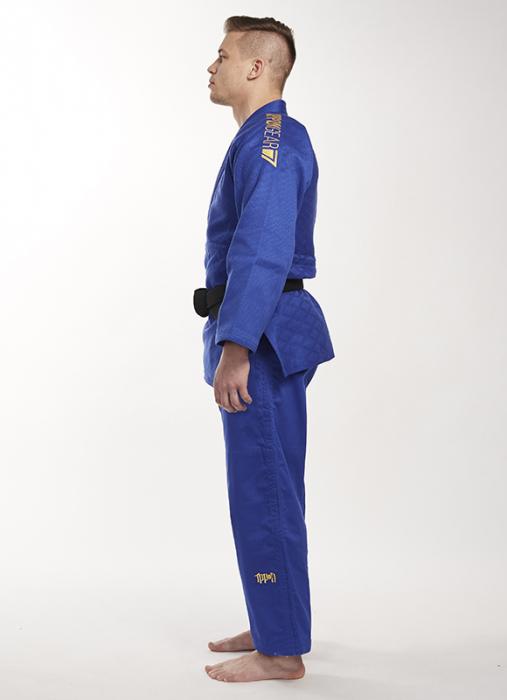 Bluza Ippon Gear Kimono Legend IJF Judo Albastra 2