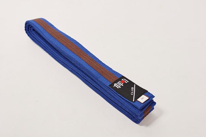 Centura Ippon Gear Bicolora Albastru-Maro-Albastru 0
