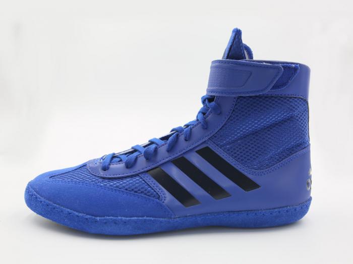 Ghete lupte  Combat Speed V Albastre Adidas 1