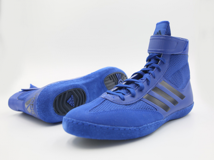 Ghete lupte  Combat Speed V Albastre Adidas 0