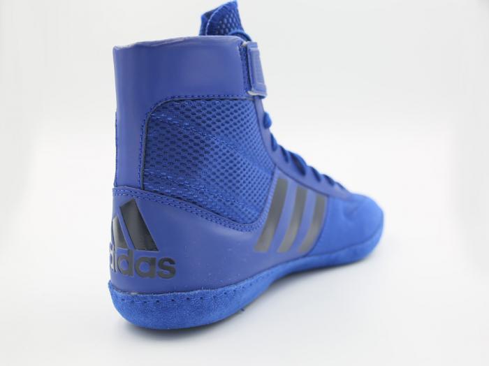 Ghete lupte  Combat Speed V Albastre Adidas 4