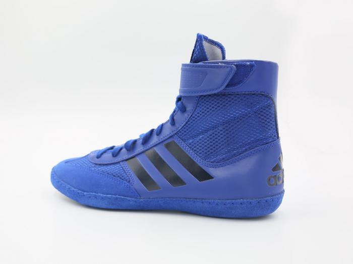Ghete lupte  Combat Speed V Albastre Adidas 2