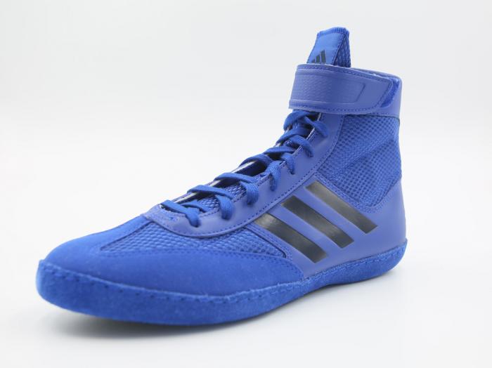 Ghete lupte  Combat Speed V Albastre Adidas 3