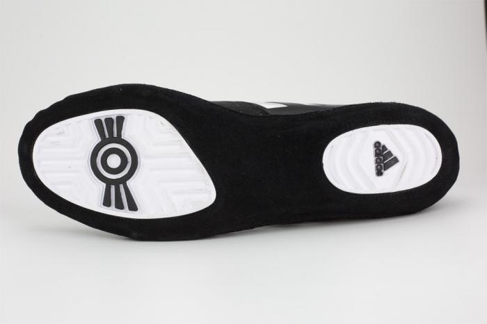Ghete lupte  Combat Speed V Negre/Argintii Adidas [1]