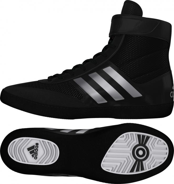 Ghete lupte  Combat Speed V Negre/Argintii Adidas [0]