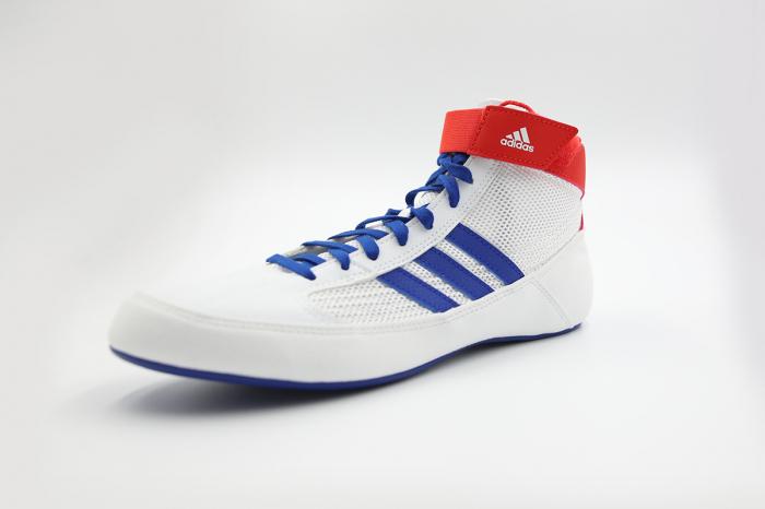 Ghete lupte  Havoc Albe Adidas 3