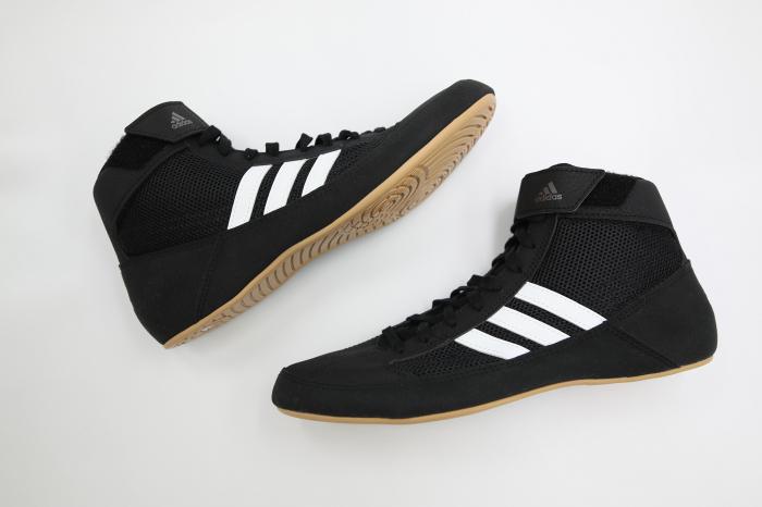 Ghete lupte  Havoc negre Adidas 1