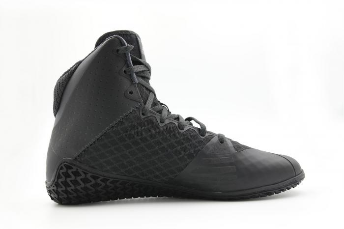 Ghete lupte Mat Wizard 4 Negre Adidas 4