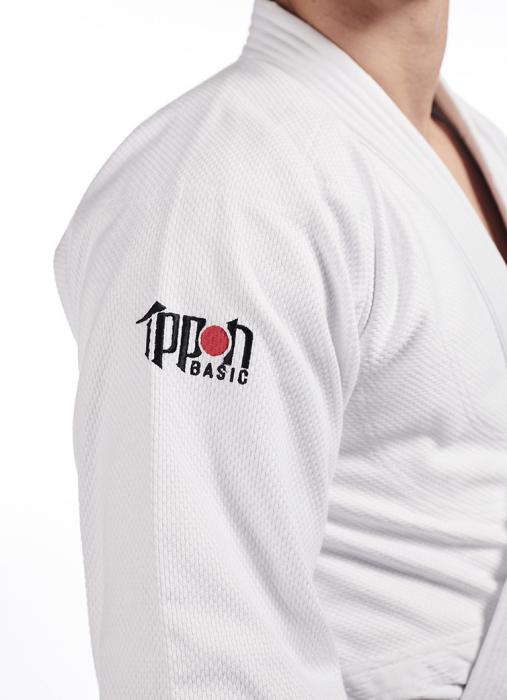 Kimono Ippon Gear Basic Alb [2]