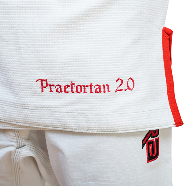 Kimono de BJJ ARMURA Praetorian 2.0 Alb [5]