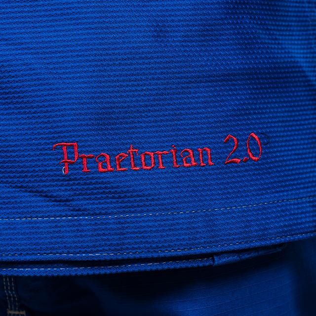 Kimono de BJJ  Praetorian 2.0 Albastru Armura 2