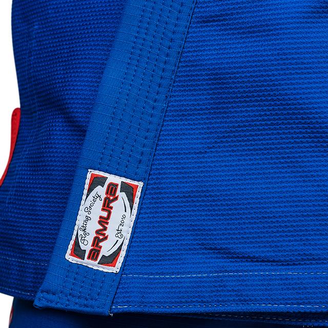 Kimono de BJJ  Praetorian Copii 2.0 Albastru Armura [2]
