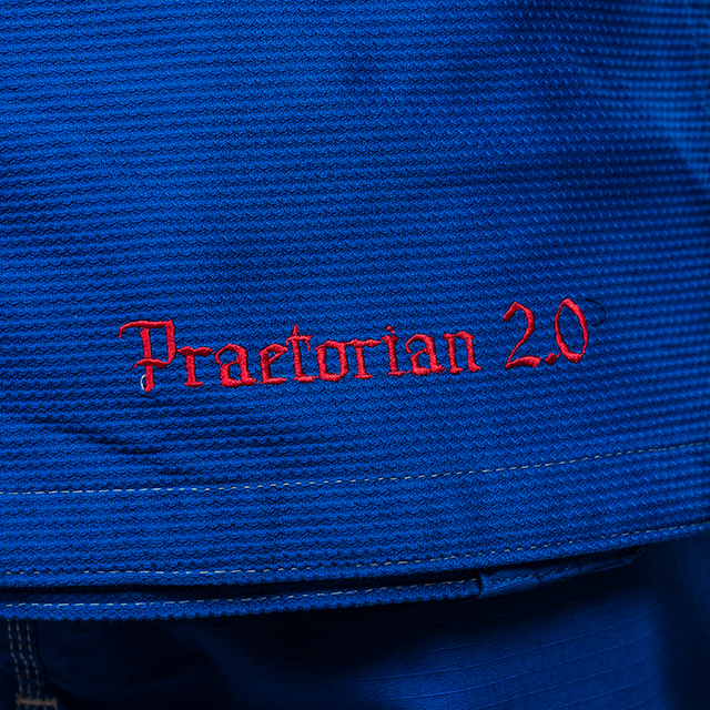 Kimono de BJJ  Praetorian Copii 2.0 Albastru Armura [3]