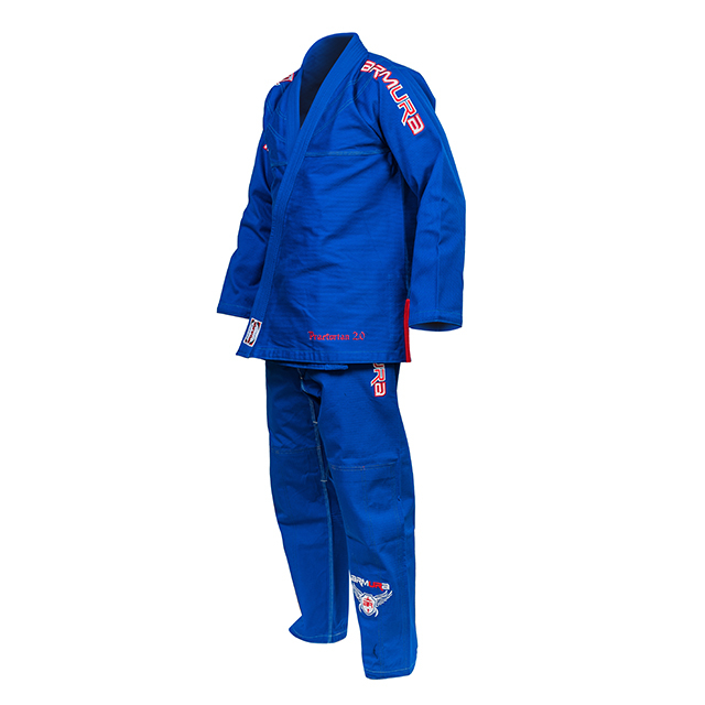 Kimono de BJJ  Praetorian Copii 2.0 Albastru Armura [0]