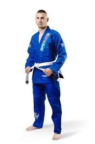 Kimono de BJJ  Praetorian  copii Albastru Armura 0